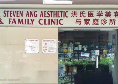 Dr Steven Ang Aesthetic & Family Clinic | Prices & Reviews