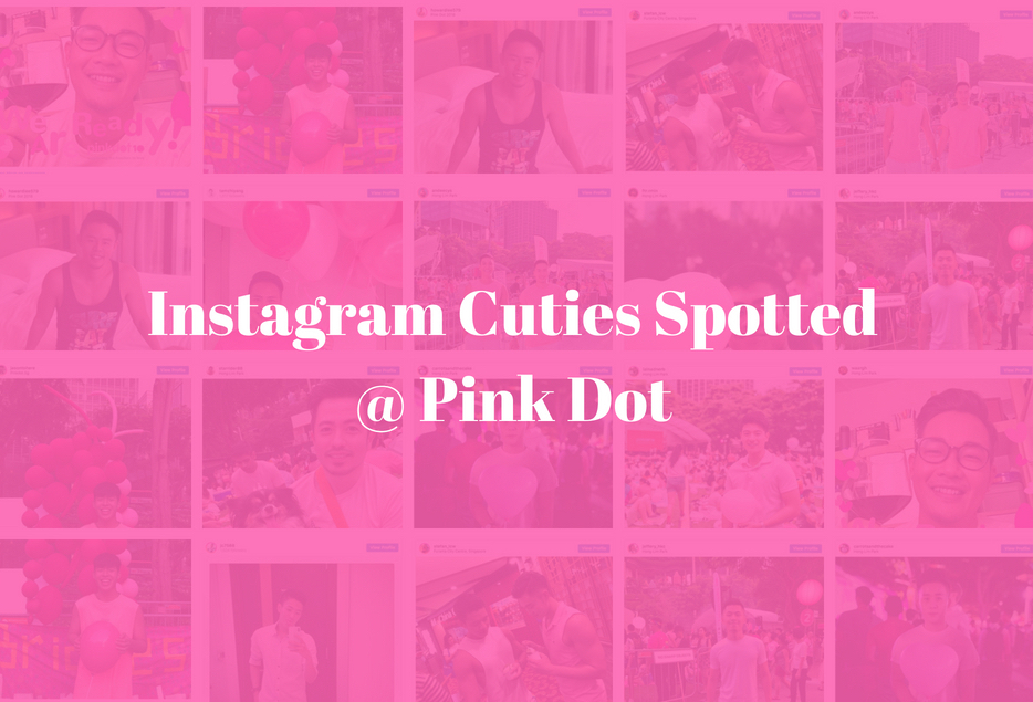 Instagram Cuties Spotted At Pink Dot 2018