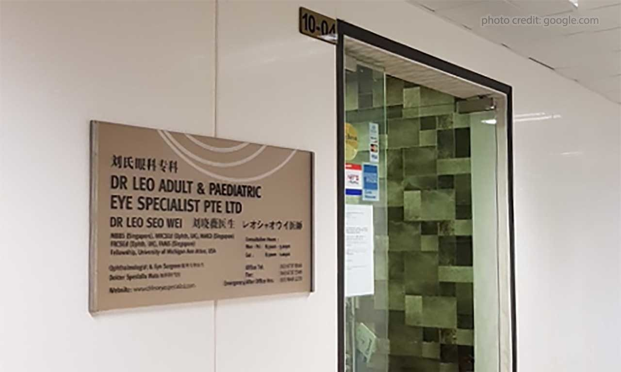 Dr Leo Adult & Paediatric Eye Specialist Pte Ltd